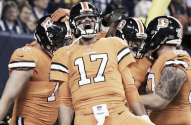 Osweiler comandó la quinta victoria de Broncos frente a Indianapolis