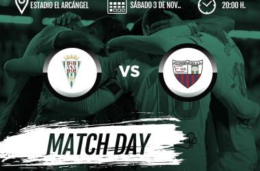 Cartel del partido correspondiente a la jornada 12 | Fotografía: Córdoba CF