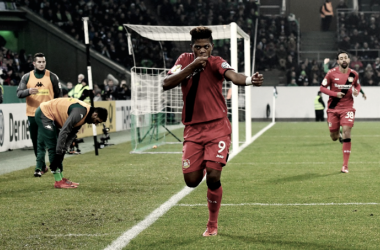 L'esultanza di Bailey. Foto: Twitter The DFB-Pokal