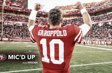 Jimmy Garoppolo, el jugador que necesitaban los 49ers
