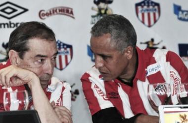 """Fuad Char: """"Mendoza seguirá en Junior para el 2016"""""""