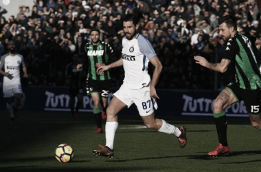 Candreva e Acerbi in partita | Twitter @Inter-