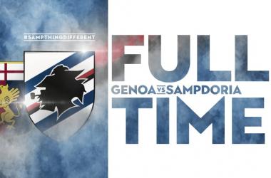 Serie A- Finisce 1-1 un derby della Lanterna senza spettacolo