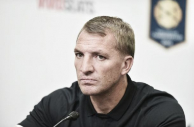 """Brendan Rodgers: """"El total de goles irá en aumento puesto que el equipo va a mejorar"""""""