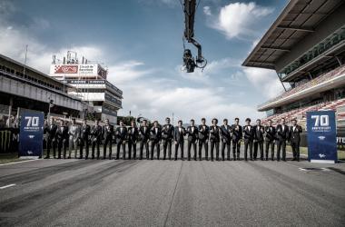 La parrilla de MotoGP al completo./ Foto:motogp.com