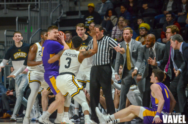 UMBC's defense played a key role in helping them get past Albany