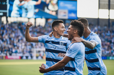 Sporting Kansas City 2-1 LAFC: Wizards come from behind to edge 10-man Black and Gold