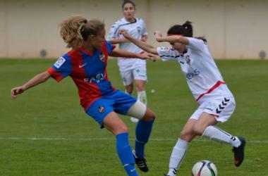 Fotos e imágenes del Fundación Albacete 1-6 Levante, primera división femenina