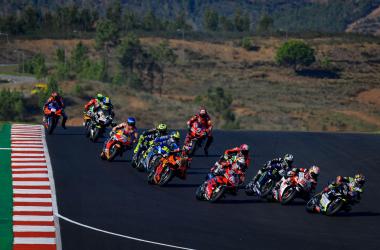 Carrera MotoGP GP MEO de Portugal 2020. | Foto: Motogp.com