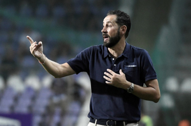 """Pablo Machín: """"Valen lo mismo los puntos de la primera jornada que los de la última"""""""