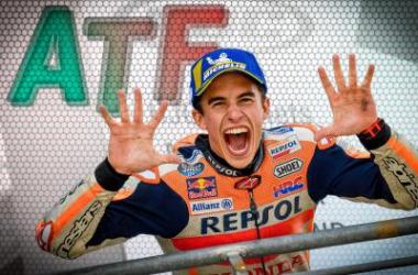 El campeón del mundo de MotoGP , Marc Márquez. / Foto: motogp.com