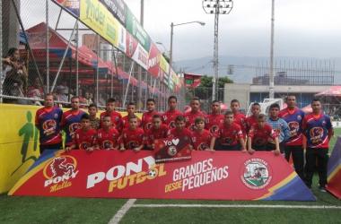 El DIM hizo su debut en la Pony Fútbol