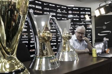 Presidente faturou dois Campeonatos Brasileiros e um Campeonato Paulista à frente do Timão (Foto: Daniel Augusto Júnior/Agência Corinthians)