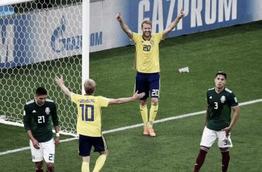 Suecos aguardam a definição do Grupo E para conhecer seu adversário nas oitavas (Foto: Divulgação/Fifa)