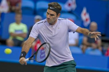 Federer - Fonte: @hopmancup / Twitter