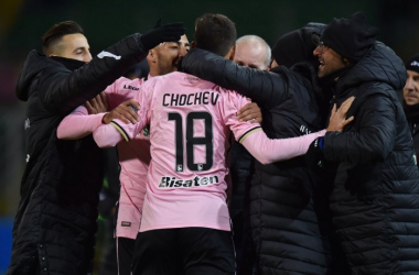 Serie B: il Palermo cala il tris e mantiene la vetta, Salernitana battuta 3-0