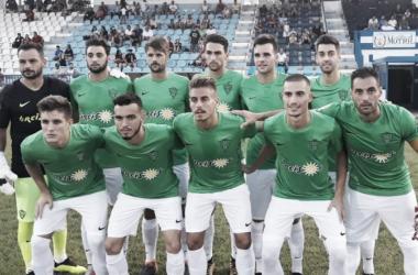 Once titular del Almería en el partido frente al Melilla | Fuente: UD Almería