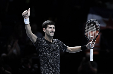 Djokovic saludando al público tras el partido. Foto: GettyImages