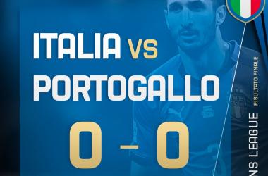 Nations League: finisce in parita Portogallo e Italia (0-0)