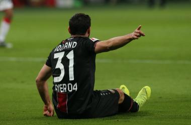 """Bundes - Volland """"double face"""": prima sbaglia, poi fa doppietta e il Bayer vince 2-0 con lo Stoccarda"""