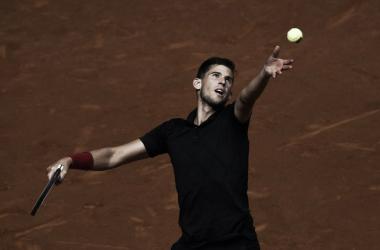 Dominic Thiem. Fonte: Mutua Madrid Open/Twitter