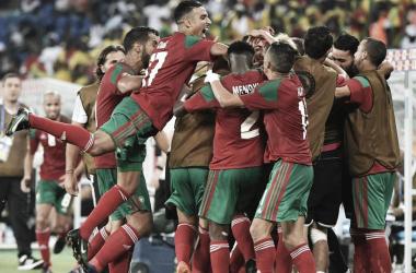 Camino a Rusia de Marruecos2018.
