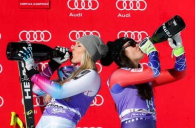 Sci Alpino, Garmisch-Partenkirchen, discesa: Vonn fa 80! Goggia seconda per due centesimi