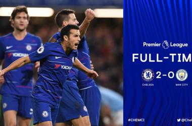 Premier League- Il Chelsea batte il City e riapre la Premier
