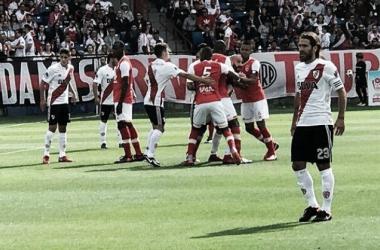 El equipo de Marcelo Gallardo no mostró su mejor versión en el primer partido de la pretemporada. Foto: La Página Millonaria.
