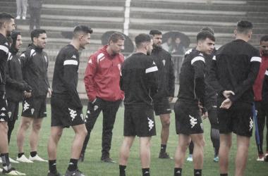 Preparación del encuentro ante el Real Zaragoza | Fotografía: Córdoba CF