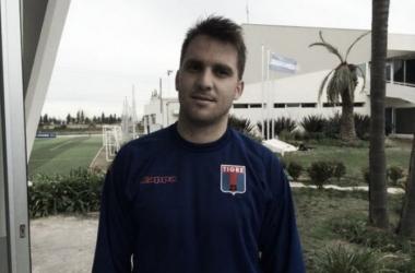 Ignacio Canuto en Tigre 2013 (Foto:@catigreoficial).