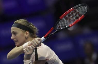 WTA San Pietroburgo - Oggi i quarti di finale - Petra Kvitova Twitter