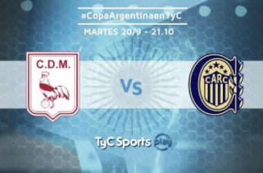 El Canalla buscará seguir convida en la Copa Argentina ante Deportivo Morón.   Foto: TyC Sports