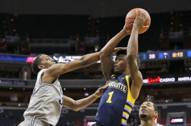 Georgetown Hoyas Hold Off Spirited Fightback From Marquette Golden Eagles For First Big East Victory