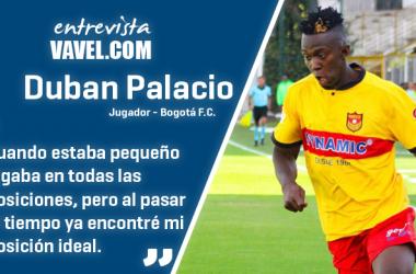"""Entrevista a Duban Palacio: """"Siempre lucho por ser mejor cada día, por conseguir lo que me propongo"""""""