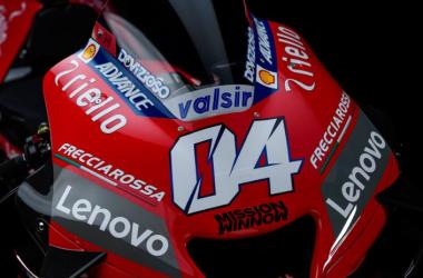 Ducati Team presenta su nueva Desmosedici 2020 en el Palazzo Re Enzo de Bolonia