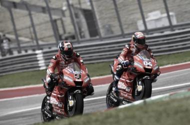Andrea Dovizioso y Danilo Petrucci / Foto: @motogp