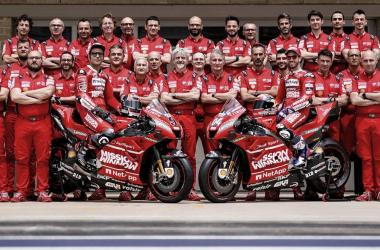 Equipo Ducati | Fotografia: Web Oficial Ducati