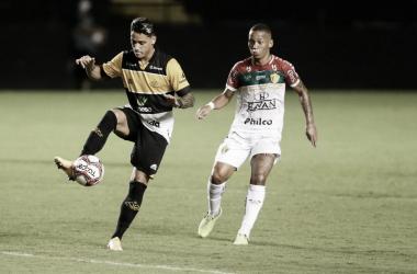 Após estreia, meia Dudu avalia como positivo primeiro jogo no Criciúma
