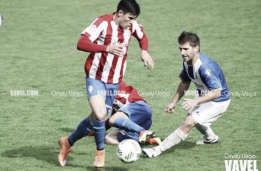 Fotos e imágenes del Sporting B 3-1 Real Avilés, Tercera División Grupo II