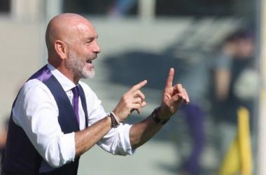 Diego Falcinelli in azione con la maglia del Sassuolo. | Fiorentina Twitter