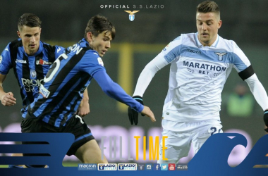 Serie A- Vittoria pesante per l'Atalanta: 1-0 contro la Lazio
