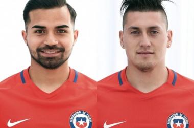 Bryan Rabello y Nicolás Castillo, nuevas incorporaciones de Pumas rumbo al Clausura 2017 (Fotomontaje: Andrés Ocampo)