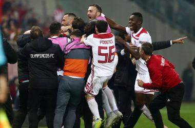 Fonte foto: Twitter Olympiakos