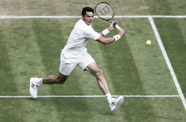 Can Raonic book his place in his first ever major final? (Image source: atpworldtour.com)