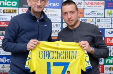 Fonte: AC Chievo Verona profilo ufficiale Twitter