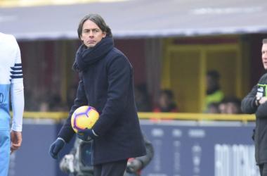 """Bologna, Inzaghi in conferenza: """"Tutti noi siamo convinti di poter uscire da questa situazione"""""""