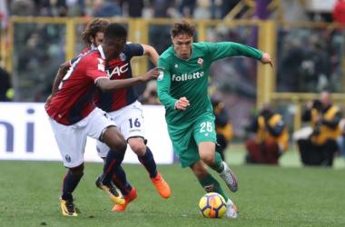 La Fiorentina torna a sorridere: Bologna battuto grazie ad un guizzo del solito Chiesa (1-2)