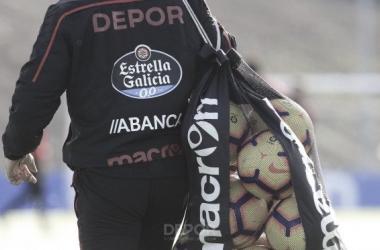 Entrenamiento en Abegondo // RC Deportivo