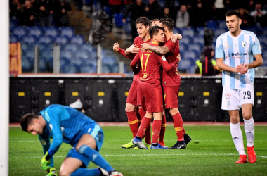 source photo: twitter @OfficialASRoma